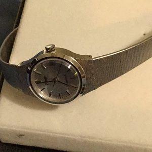 Silver tone Pulsar bracelet watch